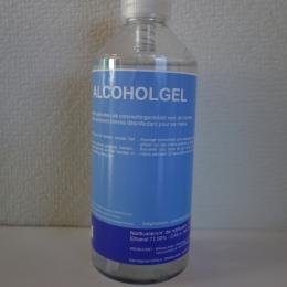 Alcoholgel - ontsmettingsmiddel vloeibaar 500 ml