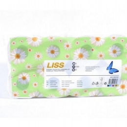 Toiletpapier Liss 3-laags